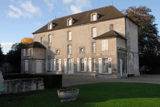 Ville de Senlis, département de l'Oise, France
