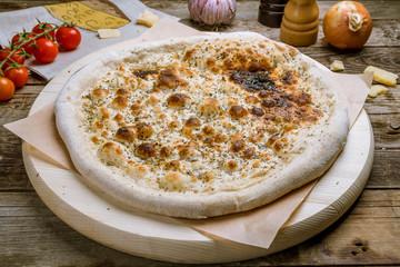 Focaccia with Parmesan