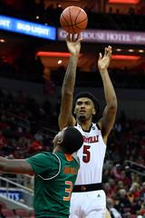 NCAA Basketball: Miami-Florida at Louisville