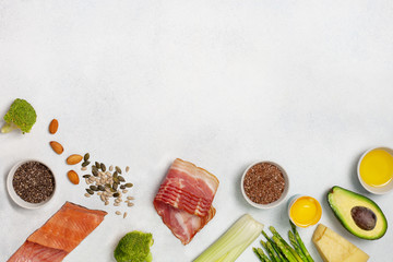 Ingredients for ketogenic diet