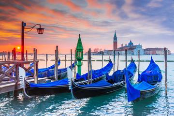 Venice, Italy - Gondola and Grand Canal