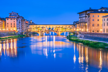Wall Mural - Florence, Tuscany, Italy - Ponte Vecchio