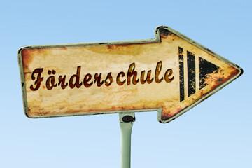 Schild 328 - Förderschule