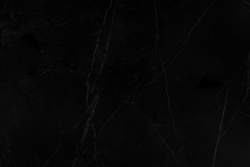 Abstract black marble for background
