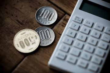 日本円と計算機