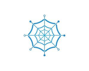 spider logo vector for business - Vectors