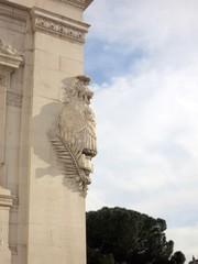 イタリア ローマの騎士像
