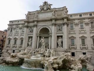 イタリア ローマ トレビの泉