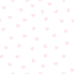 Light pink heart pattern