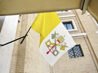 ヨーロッッパ バチカン市国 バチカンの国旗