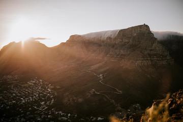 Sonnenaufgang in Kapstadt