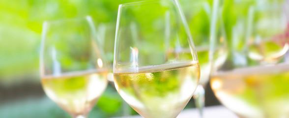 Weisswein Glas