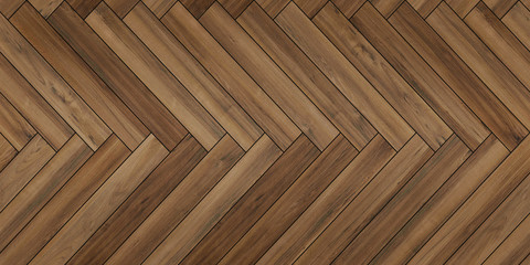 Seamless wood parquet texture horizontal herringbone pale brown