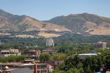 Salt Lake Valley looking East