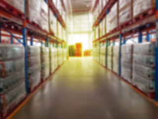 warehouse inventory stock logistic blur background