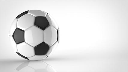 サッカーボール 左