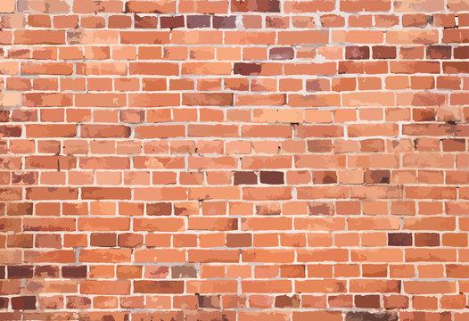 vector brackwall of brick wall texture