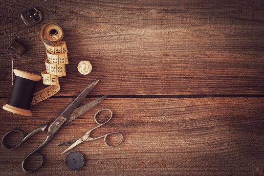 vintage sewing things