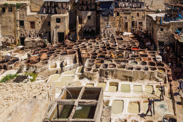 Marocco - Tanneries of Fes