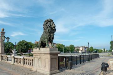 SOFIA, BULGARIA - 24 May 2018: Lion's Bridge in Sofia, Bulgaria