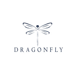 dragonfly 02 art logo