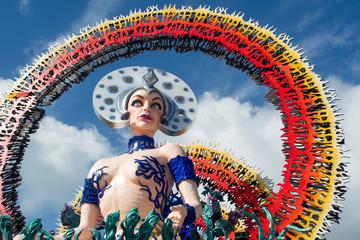 Particular carnival of Viareggio
