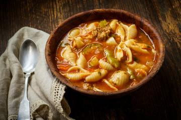 Italian Sausage Minestrone Soup