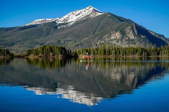 Dillon Reservoir Reflection