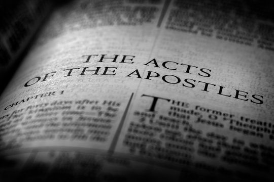 Bible New Testament Christian Gospel Acts of Apostles