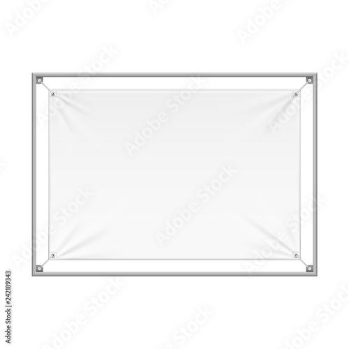 Wall Streamer Vinyl Flex Banner, Fabric, Nylon With Folds
