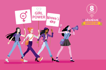 8 march international women day
