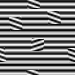 horizontal broken black lines