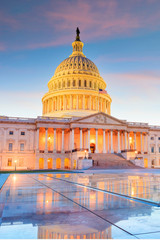 Wall Mural - The United States Capitol building