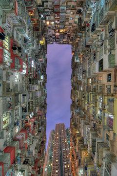 Monster Building, HK.