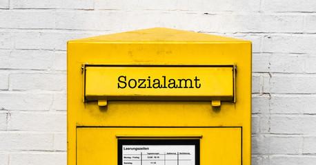 Sozialamt Briefkasten