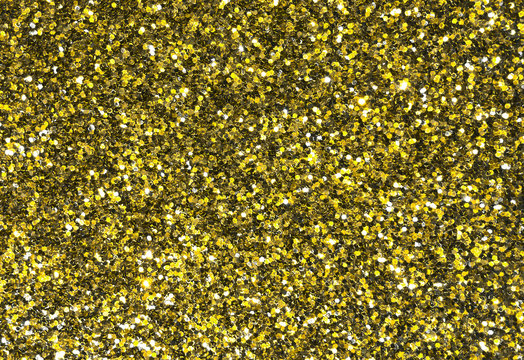 colorful golden yelloer shiny glitter background, frame texture background for night party, beautiful golden yellow shimmer glittering texture background