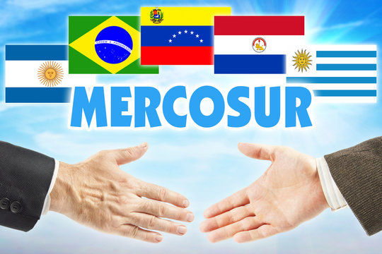 MERCOSUR. International union of some states of South America