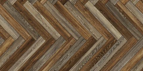 Seamless wood parquet texture horizontal herringbone brown common