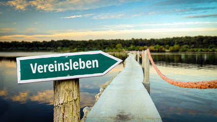 Schild 381 - Vereinsleben