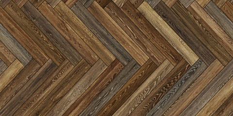 Seamless wood parquet texture horizontal herringbone brown common