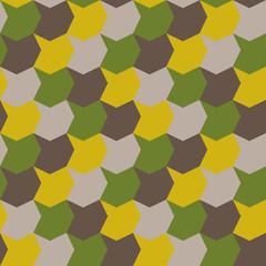 Abstract Retro Geometric seamless pattern, vivid colour background, geometry design element