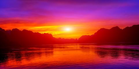 sunlight sunset sky background