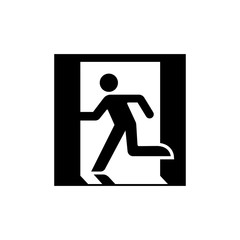 public safety sign (pictogram) / Emergency exit