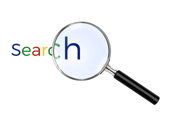 magnifying glass - search web internet