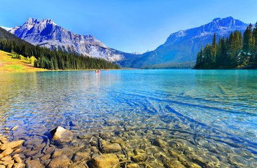 Wall Mural - Emerald Lake,Yoho National Park in Canada