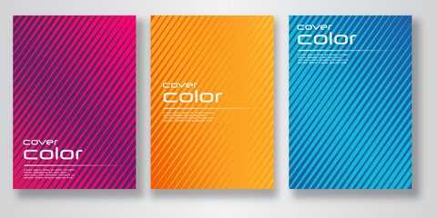 Vector color covers