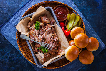homemade pulled pork