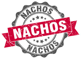 nachos stamp. sign. seal
