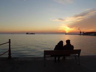 Thessaloniki twilight, Greece