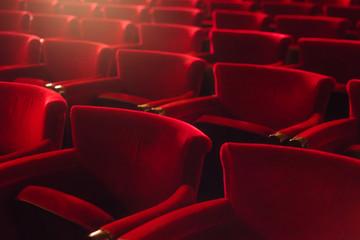 Empty seats at the cinema